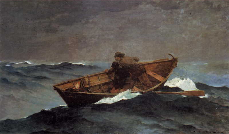 Lost on the Grand Banks by Winslow Homer