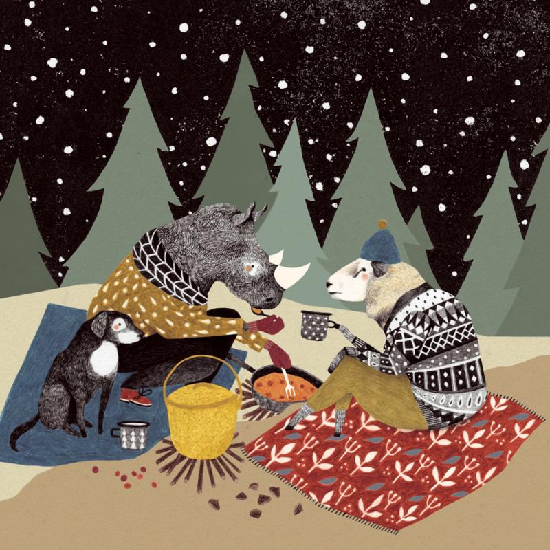 Campfire by Lieke van der Vorst