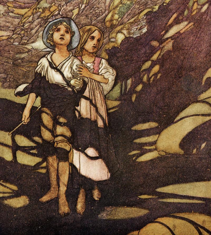 Hansel & Gretel by Charles Robinson