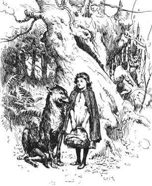 Little Red Riding Hood by G.P. Jacomb-Hood