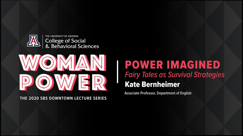 Kate Bernheimer Lecture  Tucson  Arizona  Oct 2020