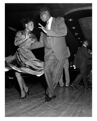 Lindy-hop in Harlem in the 1930s