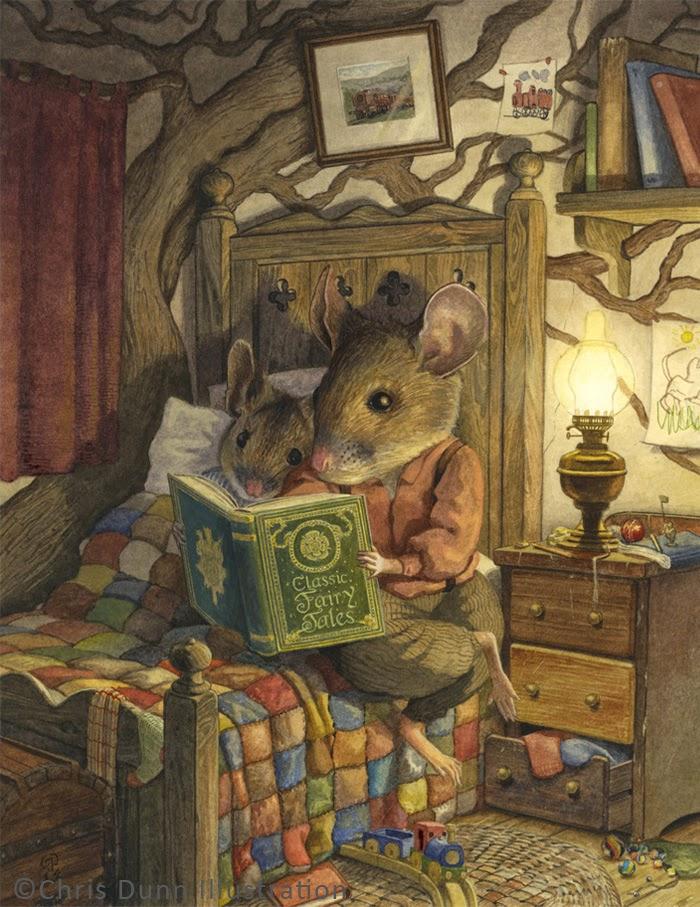 Bedtime Story by Chris Dunn