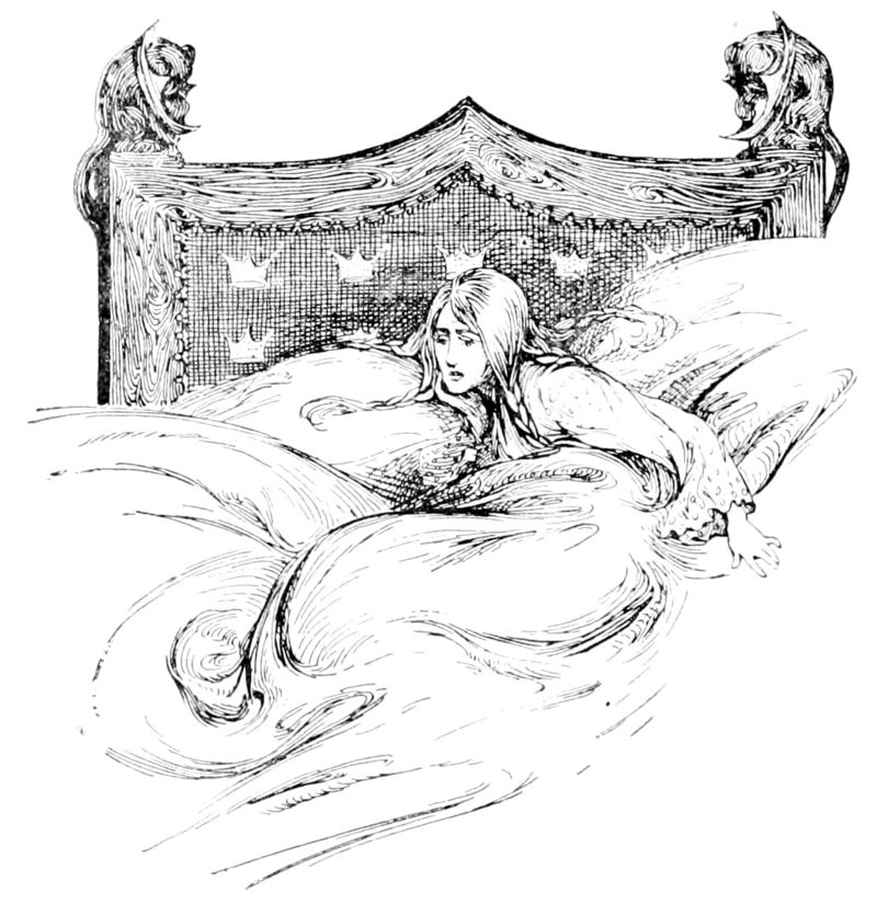 The Princess and the Pea illustrated by Helen Stratton