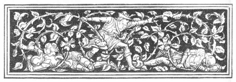From Sleeping Beauty illustrated by Walter Crane