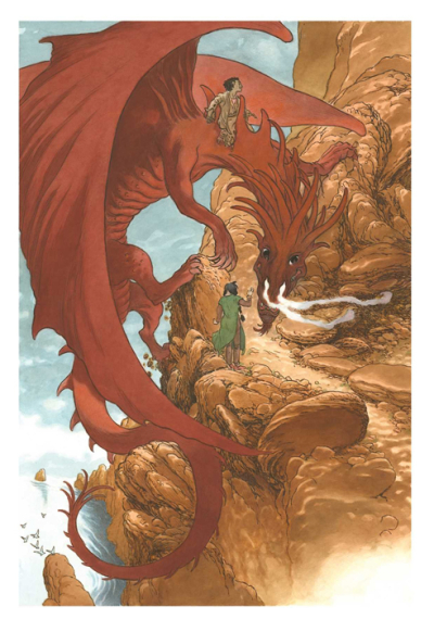 Tehanu illustrated by Charles Vess 6
