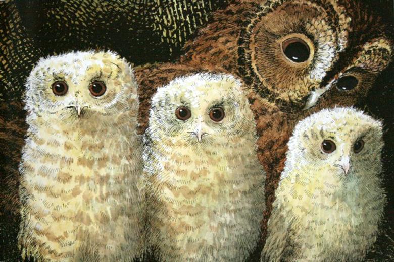 Owl Babies by Patrick Benson