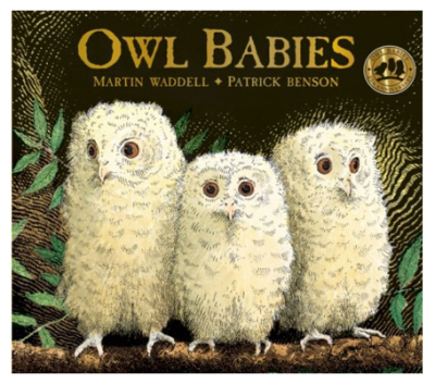 Owl Babies cover art by Patrick Benson