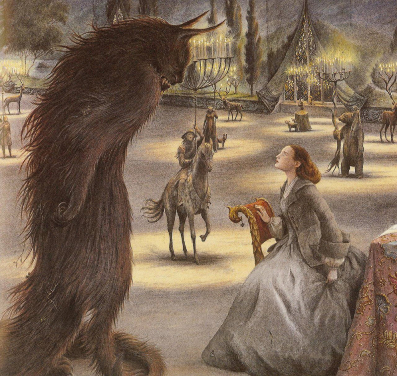 Beauty and the Beast illustrated by Angela Barrett