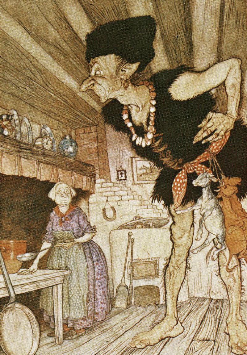 Jack the Giant-Killer by Arthur Rackham