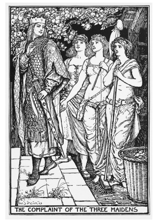 The Complaint of the Three Maidens by HJ Ford