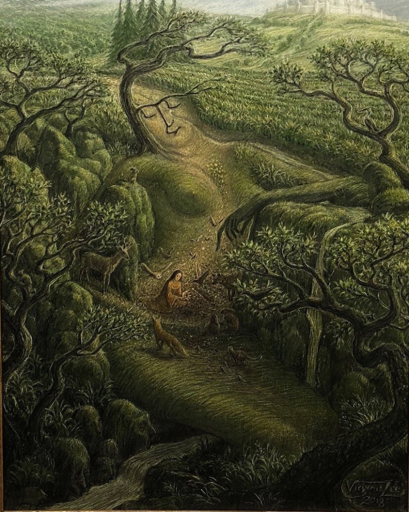 Lost and Found in a Forgotten Land by Virginia Lee