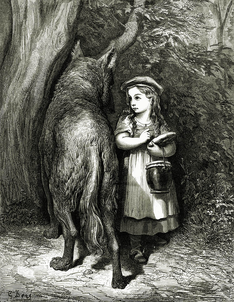 Little Red Riding Hood by Gustav Dore