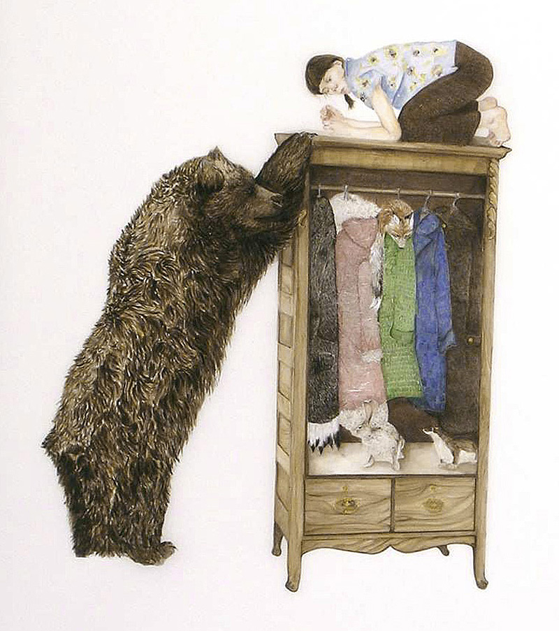 Encounter with a Bear by Kristin Bjornerud
