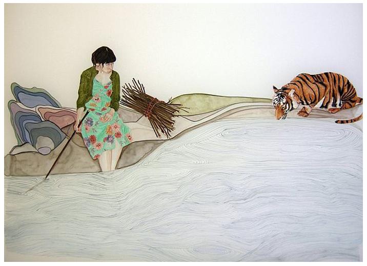 Tiger by Kristin Bjornerud