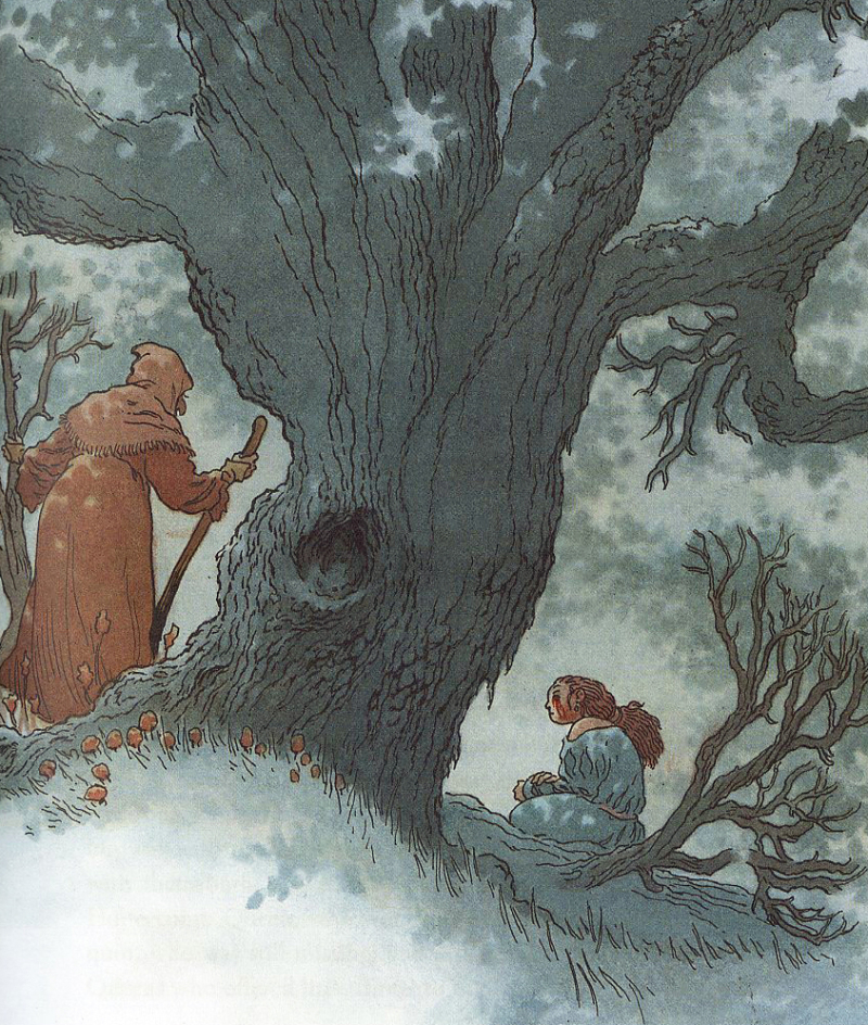 Honeycomb illustration by Charles Vess