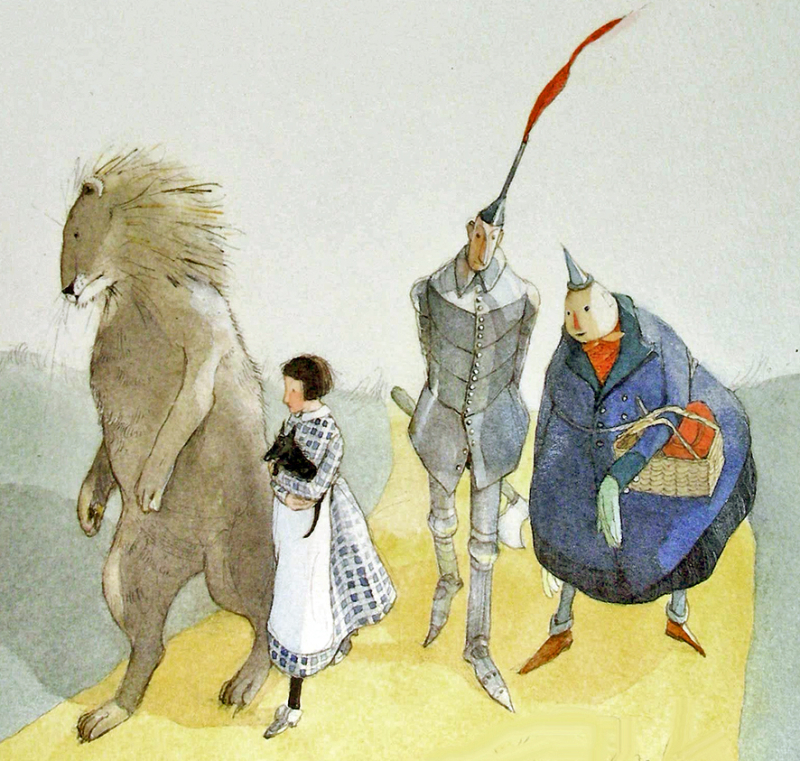 The Wizard of Oz illustrated by Lisbeth Zwerger