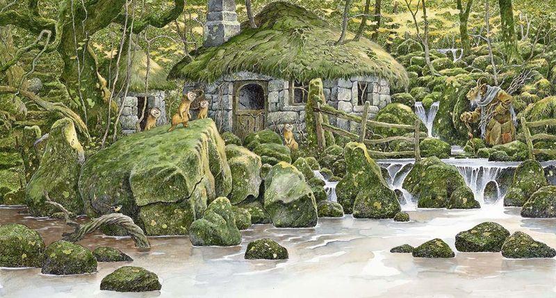 0ld Goat's Home by David Wyatt