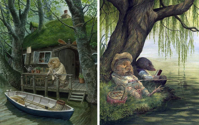 The Wind in the Willows illustrated by Chris Dunn