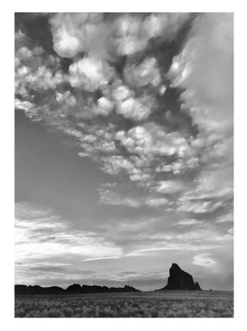 Shiprock at Sunset,  Navajo Reservation by Stu Jenks