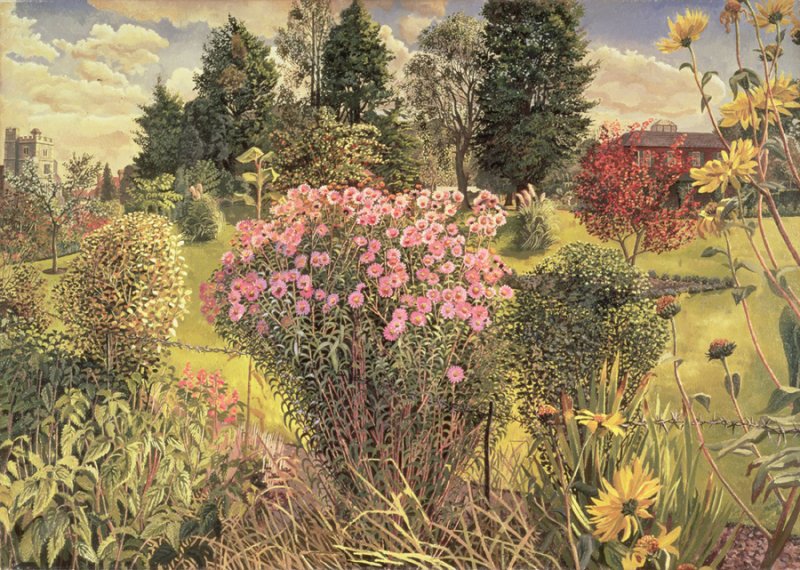 Belltrope Meadow, Cookham, by Stanley Spencer