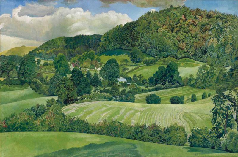 Landscape, Gloucestershire by Stanley Specer