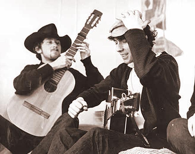 John Renbourn and Burt Jansch