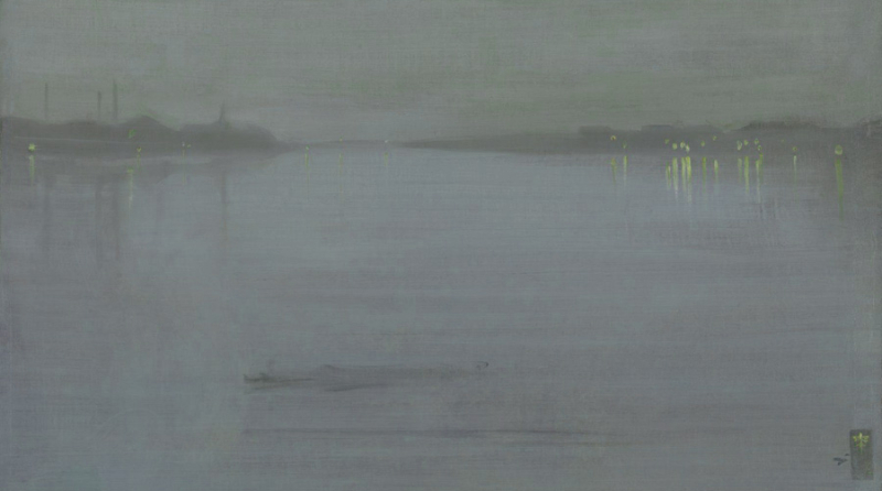 Nocturne in Blue and Silver (Cremorne Lights) by James McNeill Whistler