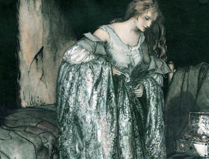The Star Dress by Arthur Rackham