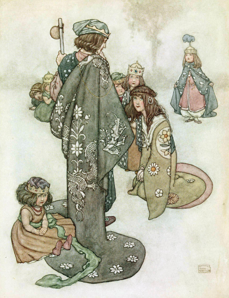 The Fairy Tales of Hans Christian Andersen illustrated by William Health Robinson