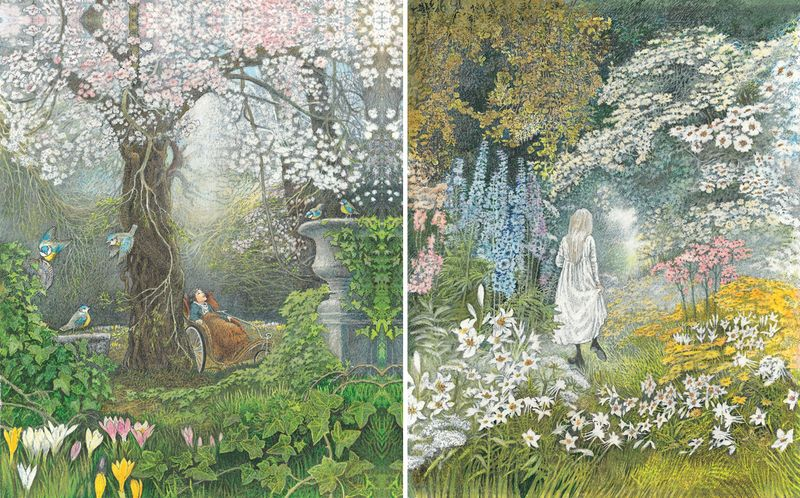 The Secret Garden illustrated by Inga Moore