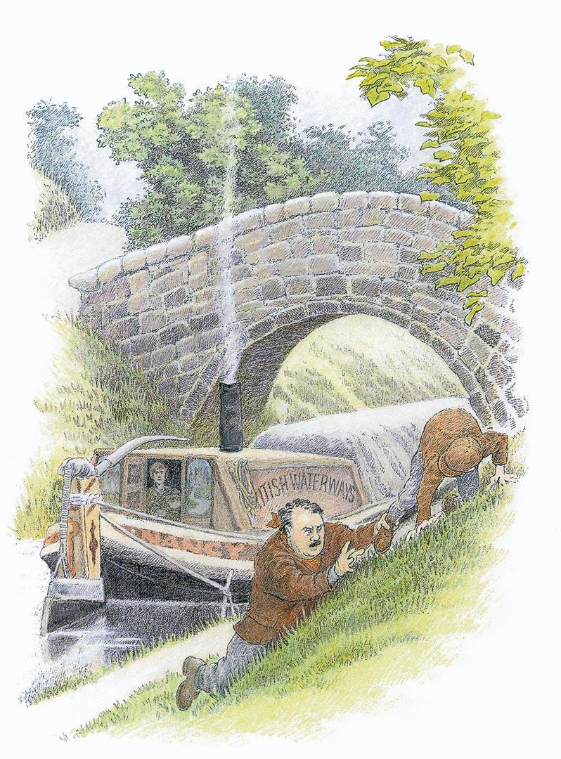 E. Nesbit's The Railway Children illustrated by Inga Moore 3
