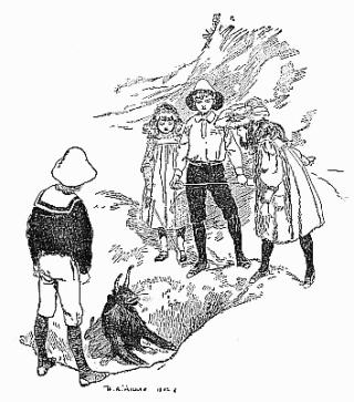 E. Nesbit's Five Children and It, illustrated by HR Millar