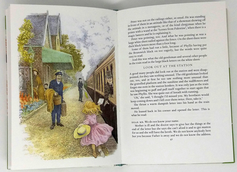 E. Nesbit's The Railway Children, illustrated by Inga Moore