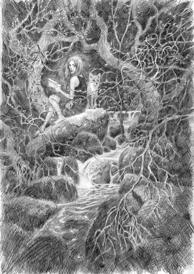 Pencil sketch by David Wyatt 2