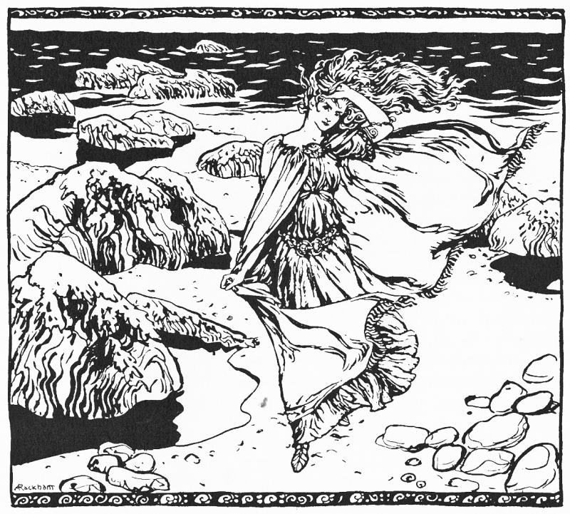 Becuma by Arthur Rackham