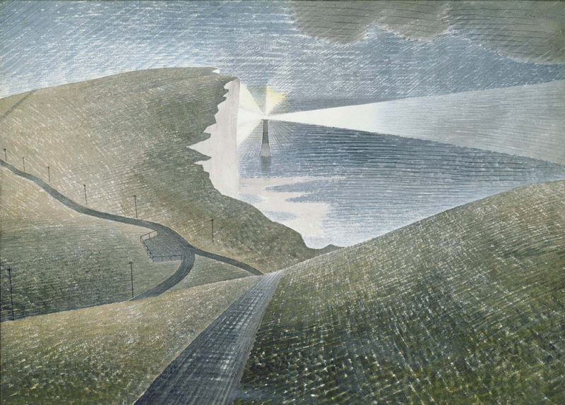 Lighthouse at Beachy Head by Eric Ravilious