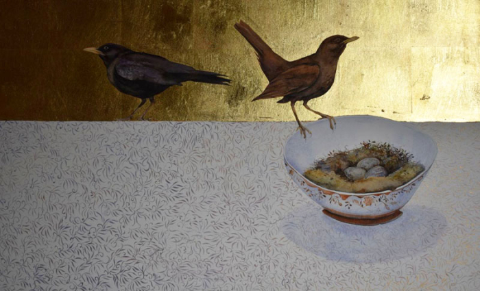 They Nested in a Porcelain Bowl by Jackie Morris