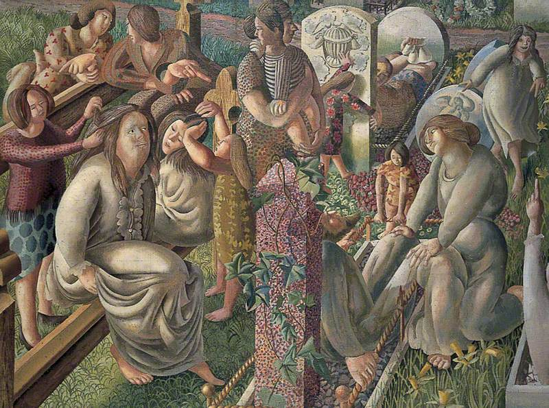 The Resurrection by Stanley Spencer