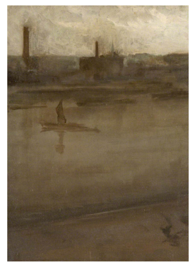 Symphony in Grey and Silver (The Thames) by James McNeill Whistler