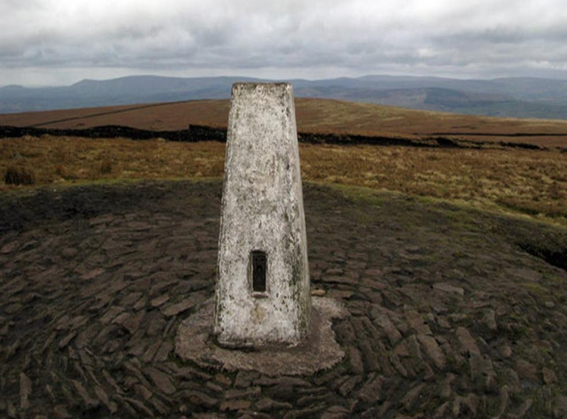 Pendle Hill in Lancashire