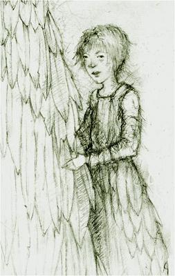 Swan Child (detail)